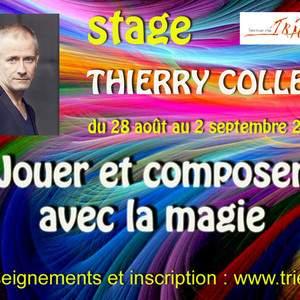 THIERRY COLLET Jouer et composer avec la magie