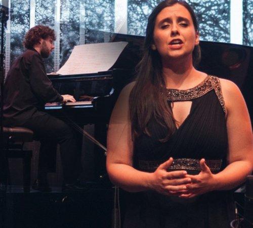 L'AMOUR ET LA VIE D'UNE FEMME ANA CASEIRO( soprano), PEDRO COSTA( pian