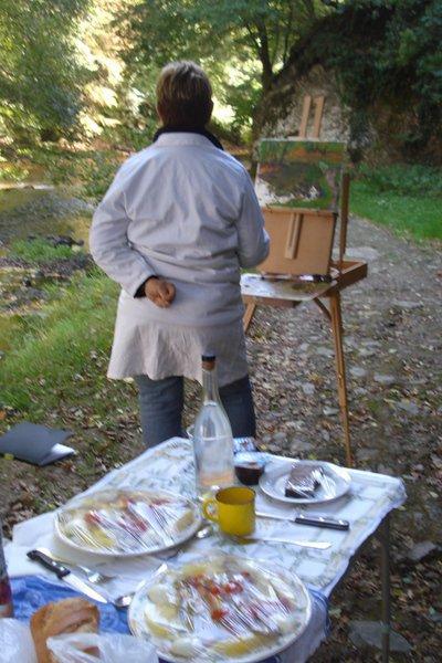 D'après Nature - stage d'initiation à la peinture de plein air.