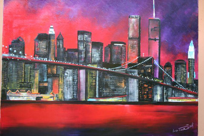 Exposition de peinture vente exceptionnelle viuz la for Table de nuit new york