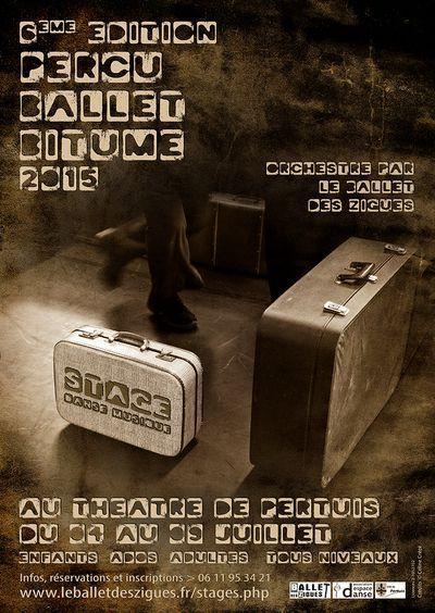 Stage / Atelier de création artistique Danse / Musique PERCU BALLET BITUME