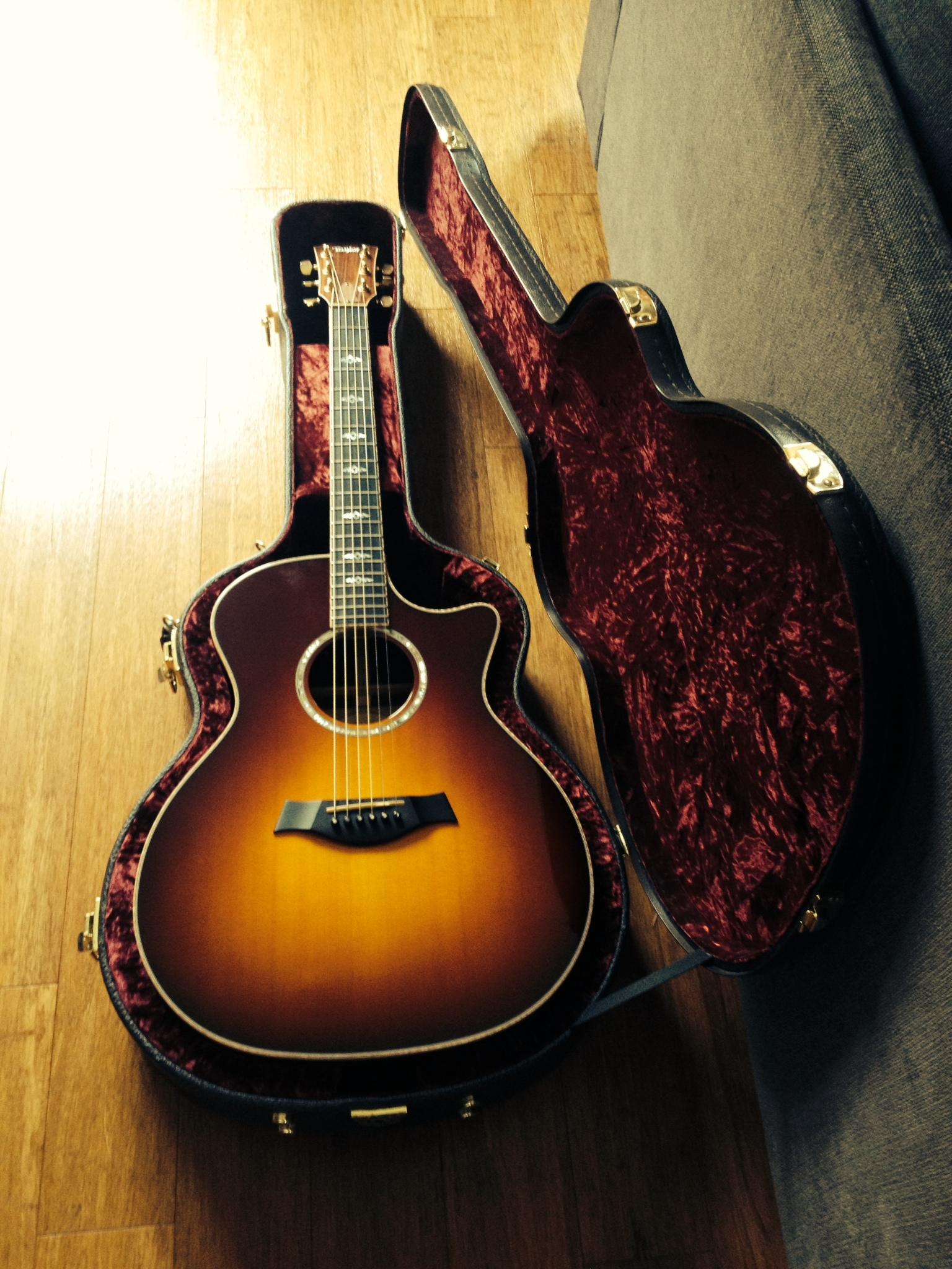 guitare elec acous taylor 814ce tobacco sunburst lille 59000. Black Bedroom Furniture Sets. Home Design Ideas