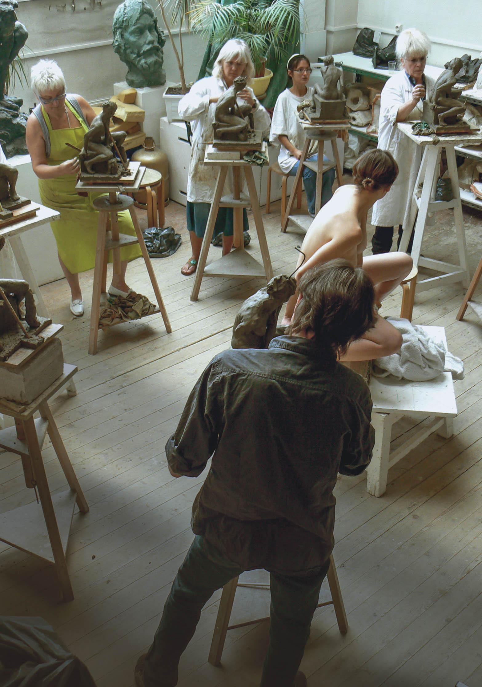 Cours de modelage d'après modèle vivant à Lille - Lille - (59000)