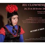 Stage de jeu clownesque