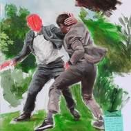 42X60 une oeuvre originale de Danielle Gutman-Hopenblum