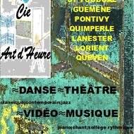 """la """"cie art d'heure"""" propose ses cours tout public, à St Tugdual,  Guémené sur Scorff,  Lanester, Queven,  Quimperlé et Pontivy"""