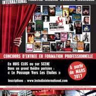 Audition Formation Professionnelle STUDIO International