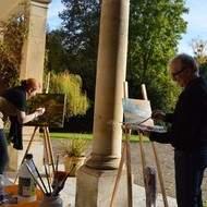 Stages de peinture et dessin dans le Vexin à 60 km de Paris
