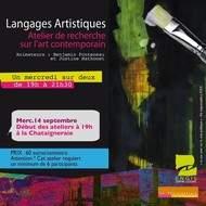 """""""Langages artistiques"""" - Ateliers de recherche sur l'art contemporain"""