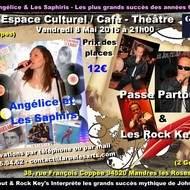 PASSE PARTOUT & Les ROCK KEY'S & ANGELICE & Les SAPHIRS