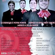 Les Mariachis à votre porte!Viva la fiesta!