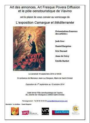 """Exposition """"Camargue et Méditerranée"""""""