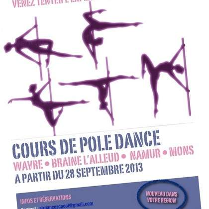 COURS DE POLE DANCE BRABANT WALLON (Braine-L'alleud))