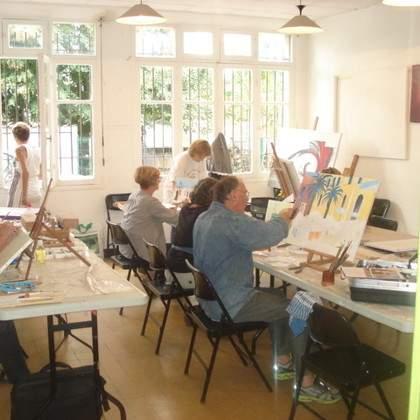 association RUMANSO   atelier L'ART'C'enCIEL