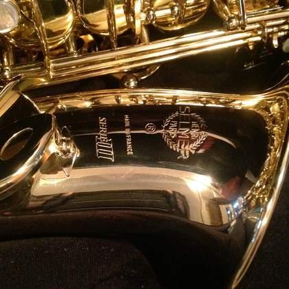 Saxophone alto SELMER SERIE III - 3000 EUR