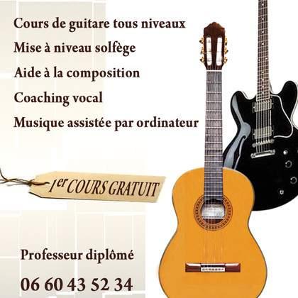 Cours de guitare à Foix
